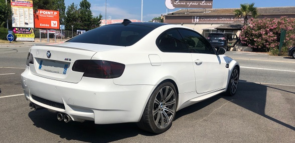 VITRES TEINTEES BMW M3